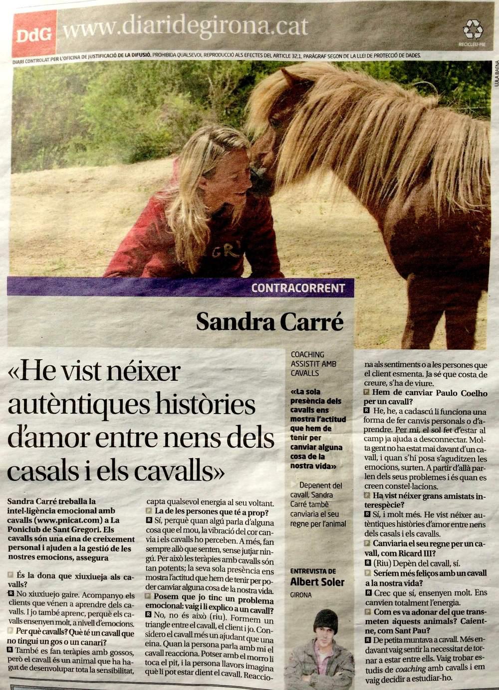 Coaching assistit amb cavalls Girona_www.pnlcat.com